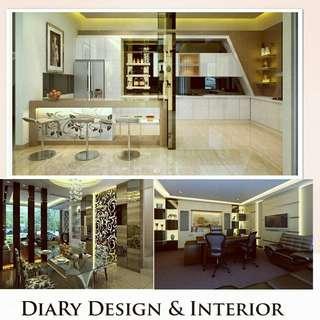 Diary Design Interior untuk renovasi, interior, rumah dll