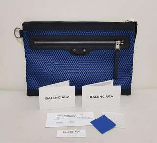 BALENCIAGA Mesh Clutch / Document Bag - 💯 Authentic or MONEY BACK