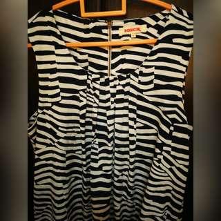 Zebra Print Sleeveless