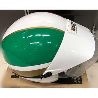 Kiss Racing Team Helmet - Tri-Colors (Brand New / Instock)