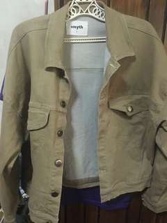 Smyth Khaki Jacket (small but fits to medium)
