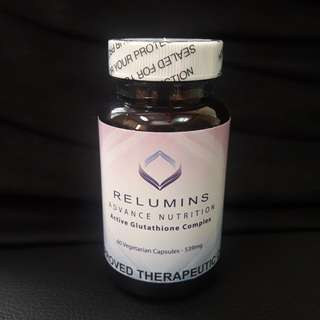 Relumins Active Glutathione Complex with 6x Booster