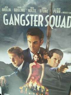 Gangster squad movie DVD