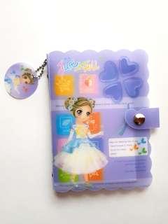 🆕️A5 Purple Lovely White Cute Binder Notebook