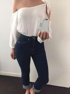 Vintage Lee High Waisted Denim Jeans