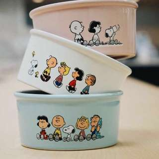 Limited Stock left ‼️Snoopy Ceramic Bowl