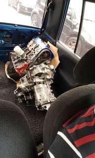Efrl engine kosong siap gearbox