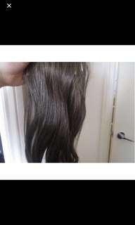 Real hair clip in exstentions 60cm