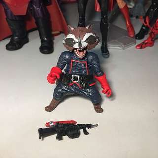 Marvel Legends Rocket Raccoon BAF