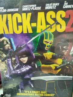 Kick-start ass 2 movie DVD
