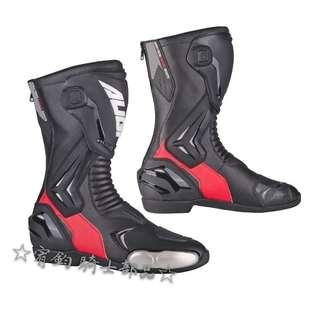 🚚 美國AUGI AR3黑/红 車靴 頂級競技型車靴 價格親民 CP值破表  外型時尚高雅