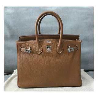 Authentic Hermes Birkin 25 Gold Phw