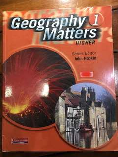 Geography Matters 1