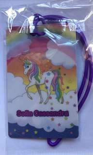 Unicorn Bag Tag