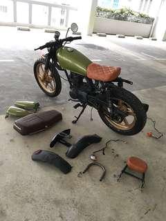 Dekitting Honda CG125