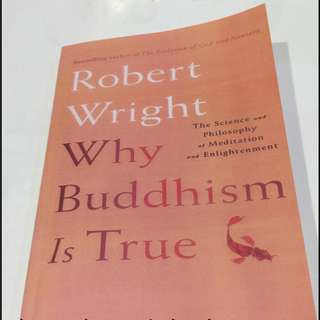 🚚 Why Buddhism is True by Robert Wright (FREE DELIVERY)