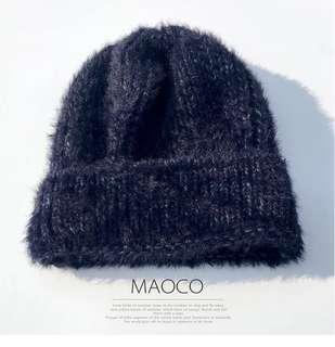 🚚 冬季寶藍毛絨絨毛帽