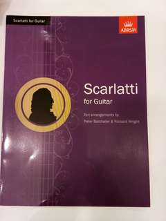 ABRSM Scarlatti for Guitar Book/Score (CLEARANCE!!)