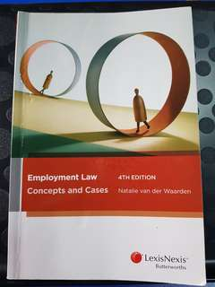Employment Law 4th Edition Murdoch Kaplan