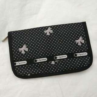 LeSportsac passport travel bag 旅行銀包 護照套 卡片套  (日本雜誌附送)