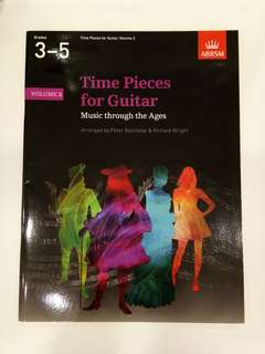 ABRSM Time Pieces for Guitar Volume 2 Grades 3-5 Book/Score (CLEARANCE!!)