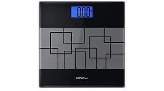 1124. SimpleTaste Precision Digital Body Weight Scale Bathroom Scale with Step-on Technology and Lighted Display, 400lb /180kg