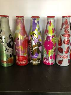 Coca-Cola 2003年 鋁樽(250ml) 5枝