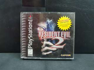 PS1 Resident Evil 2 (CIB/Used Game)