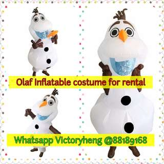 Olaf Inflatable Costume for rental
