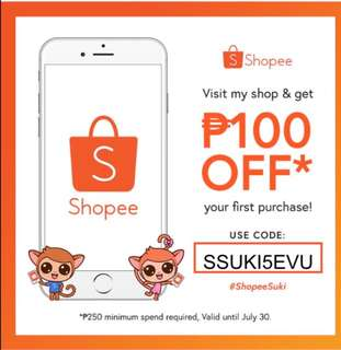 WE ARE ON SHOPEE