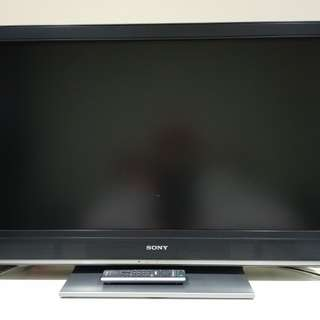 "Preloved 46"" Sony LCD TV"