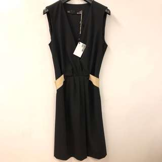 斯文裙 New Love Moschino black dress size 42
