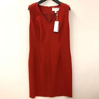 斯文裙 New Hugo Boo red dress size 40