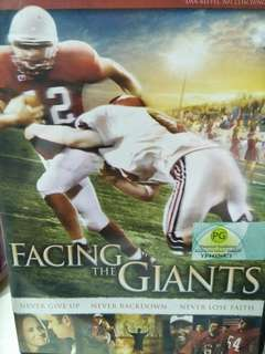 Facing the giant movie DVD
