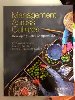 Management across cultures textbook