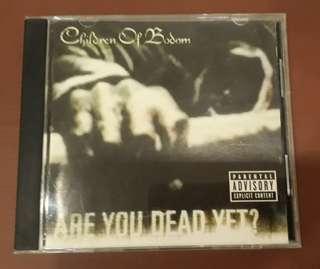 CD Children Of Bodom - Are You Dead Yet ( USA PRESS UNCENSORED VERSION )