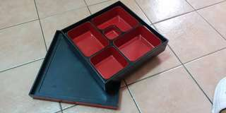 Japanese Bento Box (new) with 5 compartments