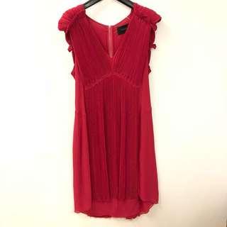 紅色連身裙 Thakoon red dress size 10