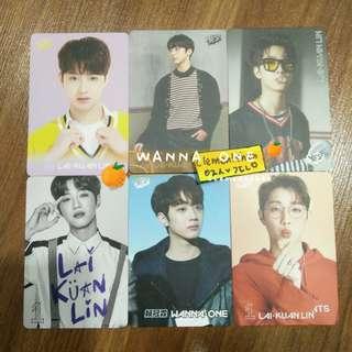 [FREE POS] Wanna One Lai Kuanlin Yes Card Photocard SET
