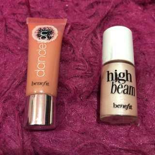 Original Benefit Highlighter + Lipgloss
