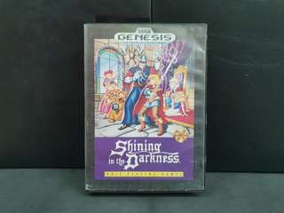 Sega Genesis Shining in the Darkness (CIB/Used Game)