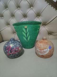 Vas bunga & celengan