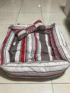 tempat tidur anjing kucing alas anjing pet bed