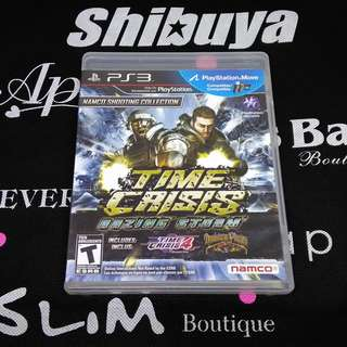 PS3 Game Time Crisis: Razing Storm