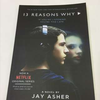 13 REASONS WHY BY JAKE ASHER PAPERBACK (FREE DELIVERY)