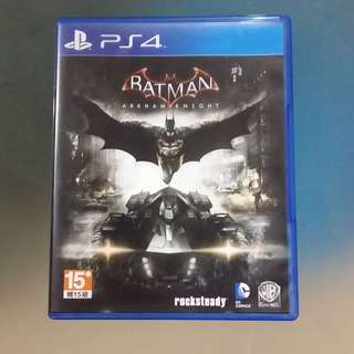 preowned PS4 game Batman Arkham Knight R3