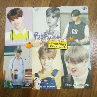 [FREE POS] Wanna One Bae Jinyoung Baejin Yes Card Photocard SET