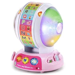 (In-Stock) LeapFrog Spin and Sing Alphabet Zoo, Exclusive Color - Pink (Brand New)