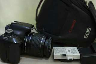Canon 600d with  18-55 IS ii