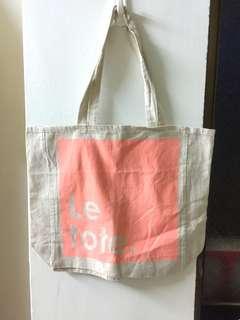 全新澳洲棉麻環保購物袋(可水洗重複使用)